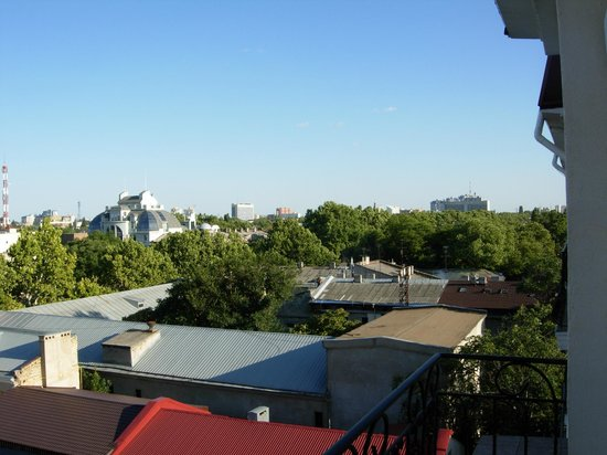 Boutique Hotel California: A view from a balcony