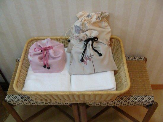 Kannawa Bettei: 和柄の可愛い巾着