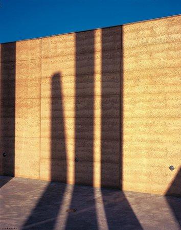 TarraWarra Museum of Art: Shadows in the courtyard