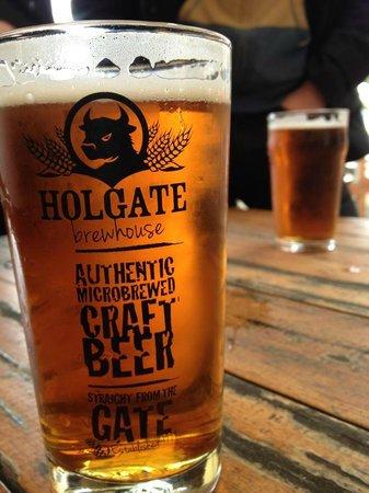 Holgate Brewhouse at Keatings Hotel: Holgate pint