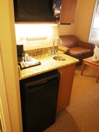Holiday Inn Express Hotel & Suites Bethlehem: mini sink