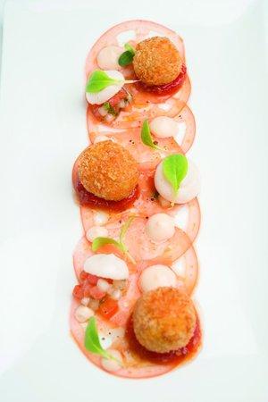 White Modern Cuisine: Tomato Melange