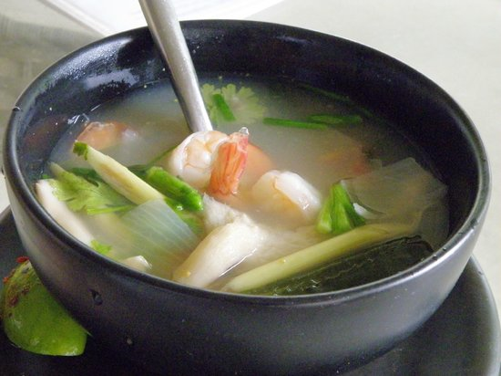White Orchid : Tom Yum Goong