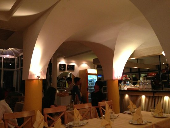 Pizzeria Limoncello : The dinning room
