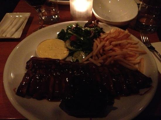 Manly Grill: Delicious steak and rib combo $48