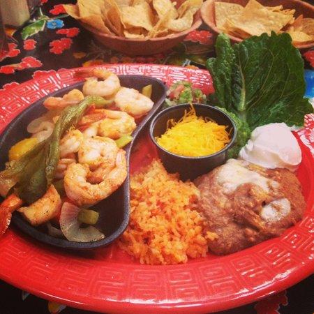 La Posta de Mesilla: Food was hot.