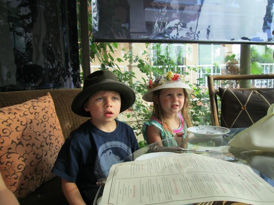 Baker House: The Kids Dressed Up