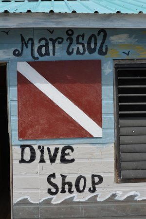Isla Marisol Resort: dive hut
