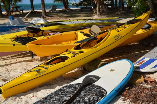 Isla Marisol Resort: kayaks and paddle boards