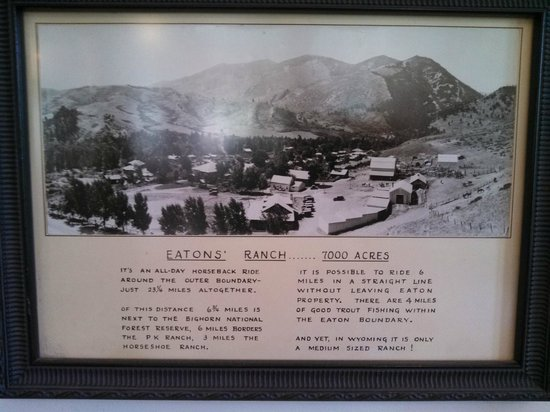 Eatons' Ranch: some history