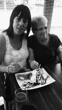 we had a fab lunch at the mercat bar in whitecraig for my sisters birthday on the 5th of August,