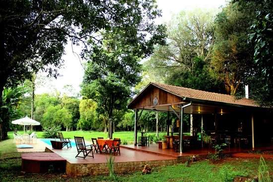 Iguassu Eco Hostel : el comedor