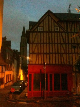 La Boulangerie: View from the street