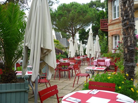 Hôtel Saint Christophe La Baule : la terrasse