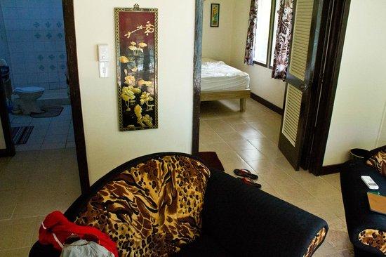Va-i-Moana Seaside Lodge: New Aircon Room