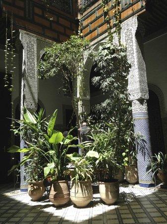 Riad Al Bartal: Center courtyard