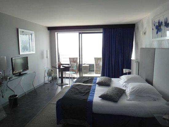 Hotel Atlantic : chambre luxe au 3e
