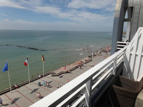 Hotel Atlantic : la terrasse de la chambre