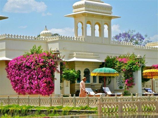 โรงแรมดิ โอเบรอย อุไดวิลาส อุไดพูร์: kamer met zwembad