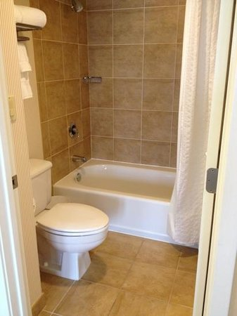 Arizona Grand Resort & Spa: super clean shower with water run through softener so your skin wont dry out!