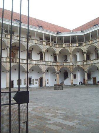 """Muzeum Piastow Slaskich: La cour du """"Wawel de Silésie"""""""