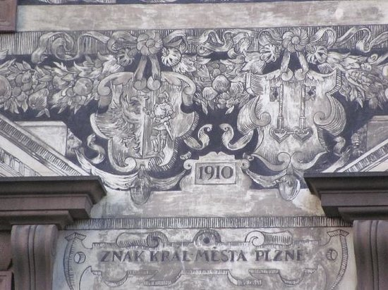 Renaissance Town Hall: detail sgrafitti