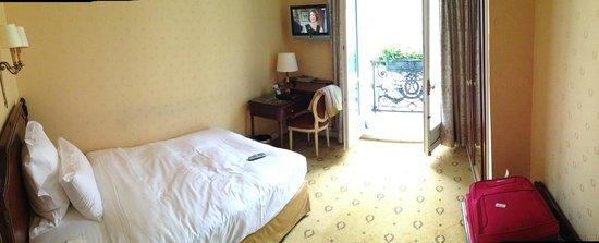Hotel Mayfair Paris: Panaromik oda görüntüsü