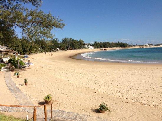 Casa na Praia Tofo: the view
