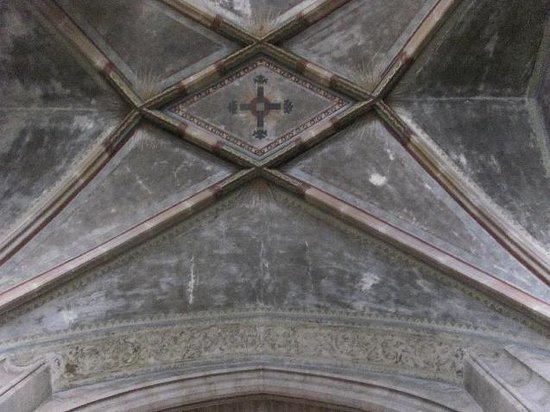St Bartholomew's Cathedral: choir ceiling