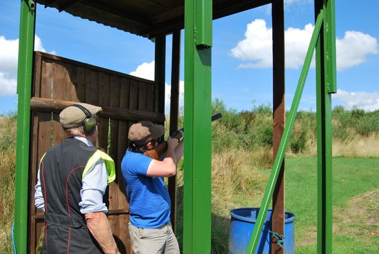 Southdown Adventure: Clay Pigeon Shooting.