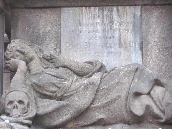 The Plague Column: detail