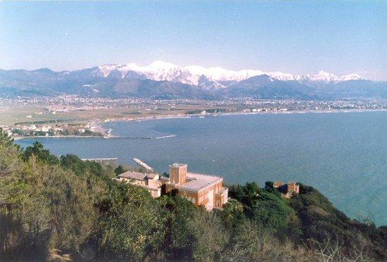 Monastero Santa Croce: Panoramica della vista del Monastero