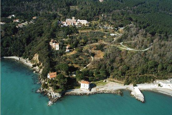 Bocca di Magra, Italy: Panoramica dal mare