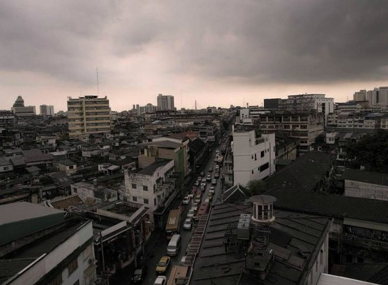 Krung Kasem Sri Krung Hotel: 屋上からの景色