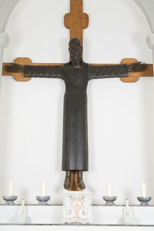 Monastero Santa Croce : Il Crocifisso del XII sec