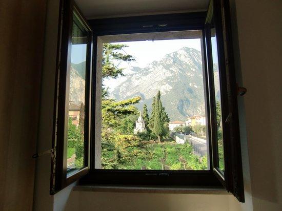 Residence Segattini: Blick aus Zimmer 7