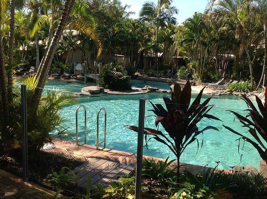 Islander Noosa Resort: Lagoon at The Islander