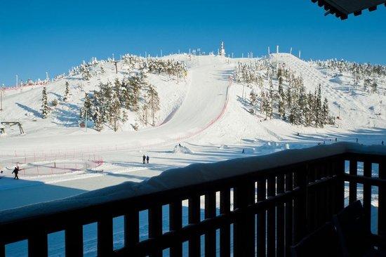 Ruka Ski Chalets, Apartmenthotel: Ruka Ski Chalets, view from balcony