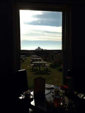 Manor House Hotel: Surely one of the best breakfast views in the UK
