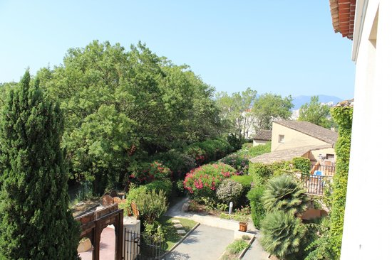 Le Rivage: View from our balcony