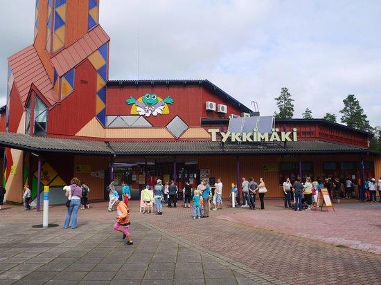 Tykkimäen Huvipuisto: Entrance