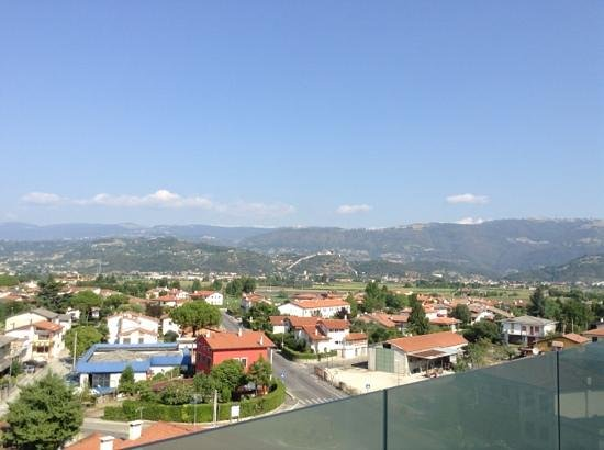 Le Nove Hotel : view from breakfast...Marostica