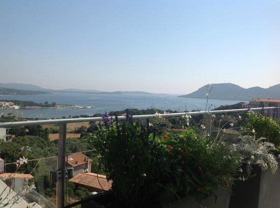 BEST WESTERN Residence Hoteliere Alcyon: Vue terrasse 1