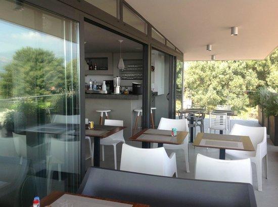 BEST WESTERN Residence Hoteliere Alcyon: Terrasse intérieur 2