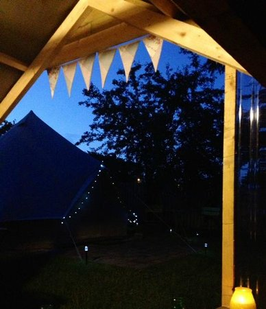 Killarney Glamping at Grove: View from kitchen