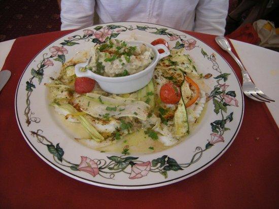 At'Able : Filet de sandre et risotto