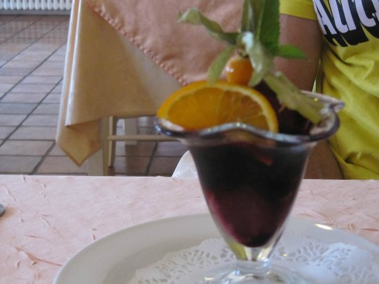 Le Burgonde : desset glace et marc de bourgogne