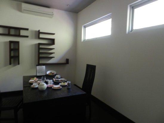 The Seiryu Villas: our dining room
