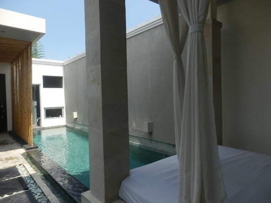 The Seiryu Villas: our own private pool
