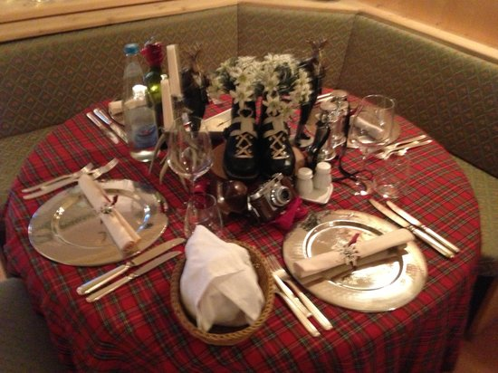 Hotel Olympia: La tavola